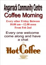 Angarrack Community Coffee Morning alternative Fridays 10-12